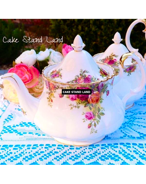 OLD COUNTRY ROSES TEA SET FOR 12